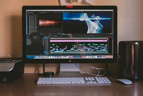 a video editing software