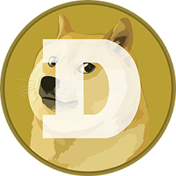 Dogecoin Cryptocurrency Icon and Logo
